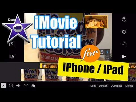 iMovie for iPhone Tutorial - Picture in Picture Video Overlay