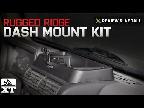 Jeep Wrangler Rugged Ridge Dash Multi-Mount (1997-2006 TJ) Review & Install