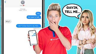 My Crush Reacts To A Shocking SECRET **SHE WAS REALLY MAD** | Gavin Magnus ft. Coco Quinn