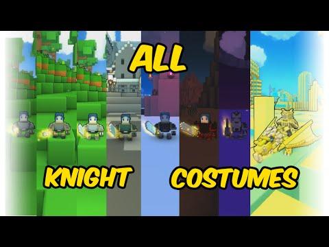All Knight Costumes in Trove