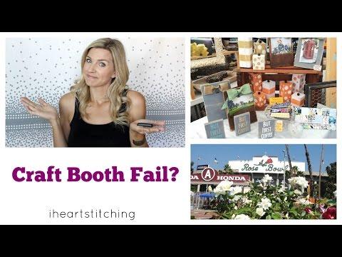 Craft Booth Fail?