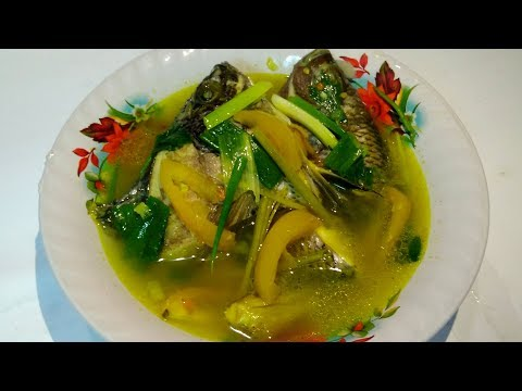 Resep Sop Ikan Nila