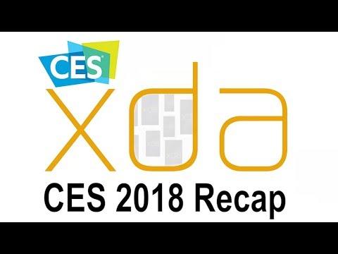 Xda CES 2018 Recap