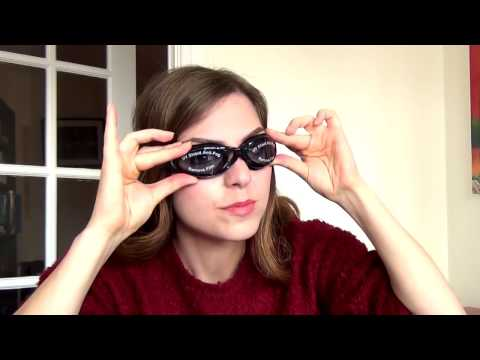 How to adjust the nose bridge of Bezzee-Pro Swimming Goggles
