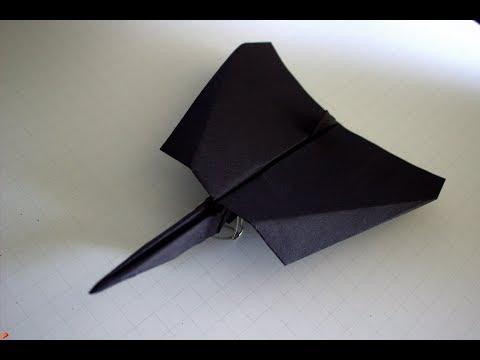 Como hacer un Avion de Papel que Vuela Mucho - Aviones de Papel - Origami Avión | Starfighter