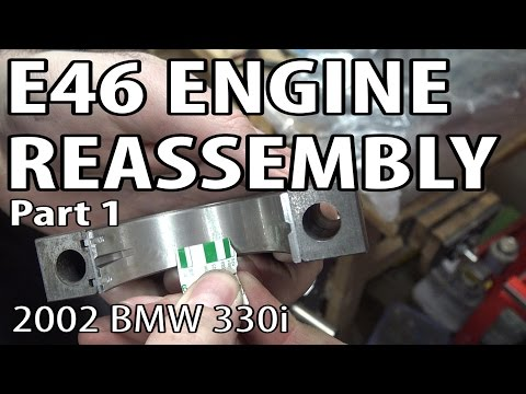 BMW M50B25 600 hp turbo cylinderhead build  - Bmw S52 Engine Rebuild Kit