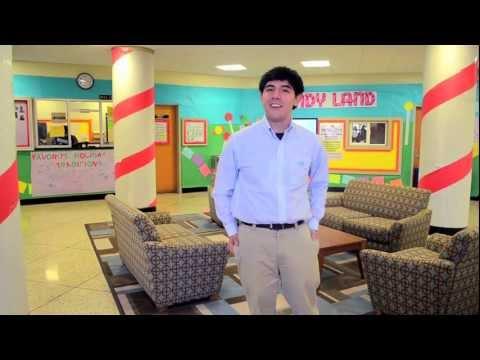 UNC Chapel Hill: Model Residence Hall Room