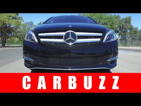 2017 Mercedes-Benz B-Class Unboxing - How Is It Related To Tesla?
