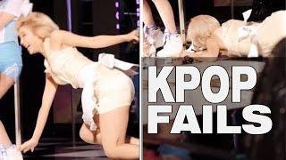 KPOP FAIL COMPILATION 2015  VIDEO