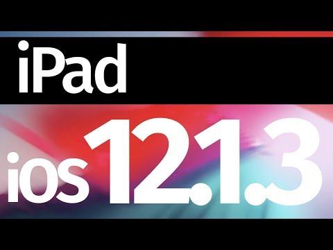 How to Update to iOS 12.1.3 - iPad , iPad Pro, iPad mini, iPad Air