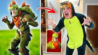 BEST FORTNITE SKINS IN REAL LIFE CHALLENGE!! (Fortnite Skins In Real Life)