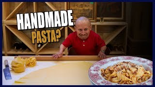 Learning How to Make Pasta From Scratch! (Delicious)