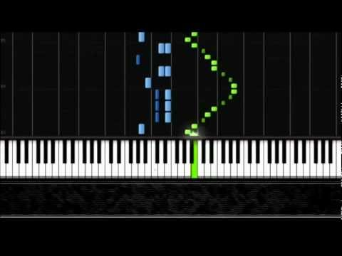 Mozart - Turkish March (Rondo Alla Turca) - Piano Tutorial by PlutaX - Synthesia