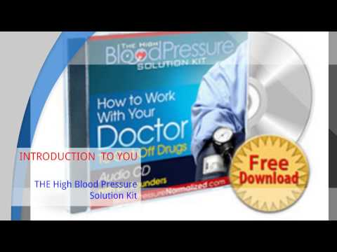THE High Blood Pressure Solution Kit | How to lower high blood pressure review