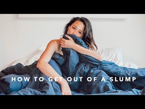 7 Ways To Get Out Of A Slump FAST | How I Stay Motivated | Aja Dang