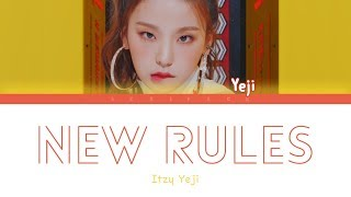Download ITZY YEJI - New Rules (Dua Lipa Cover) (Color Coded Legendado ENG/PT-BR) Video