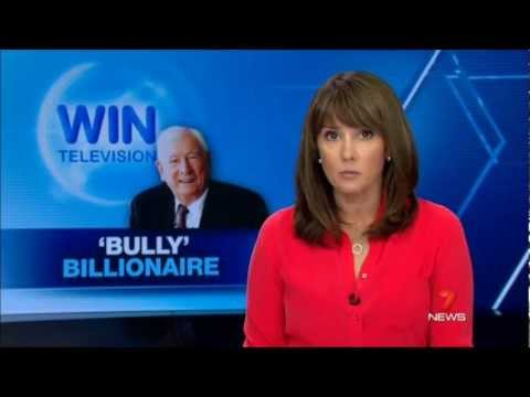 Seven News Sydney - Bruce Gordon is a 'Bully Billionaire' (27/3/2013)