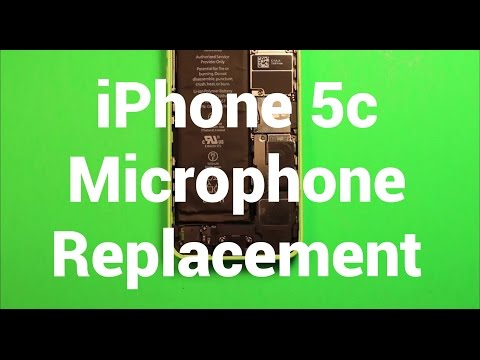iPhone 5c Microphone Replacement How To Change