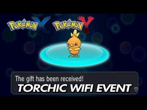 Pokemon X & Y - Torchic + Blazikenite Wifi Event / Download