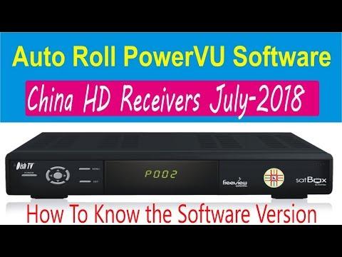 July-2018 New PowerVU Software of China HD Satellite