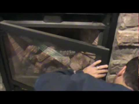 How to light the pilot light on a gas fireplace