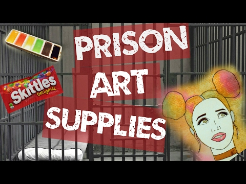 MAKING PRISON ART SUPPLIES