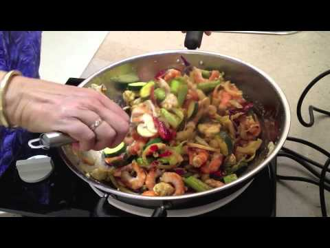Prawn Noodle Stir Fry