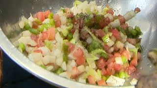 Chef Creole Mixes Up Mouthwatering Conch Salad In Exclusive Digital Bite