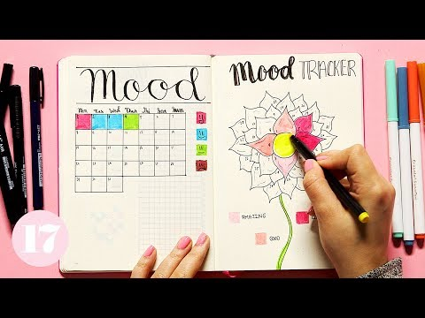 How To Create A Mood Tracker In Your Bullet Journal | Plan With Me