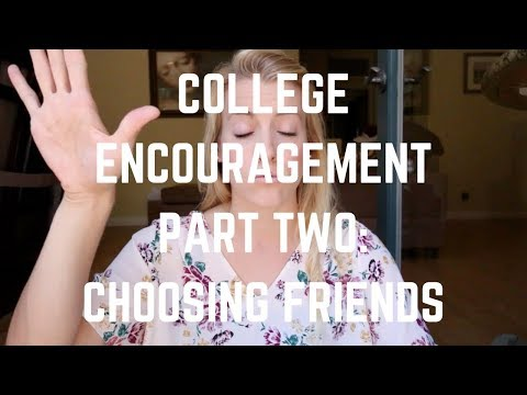 Choosing Your Friends in College