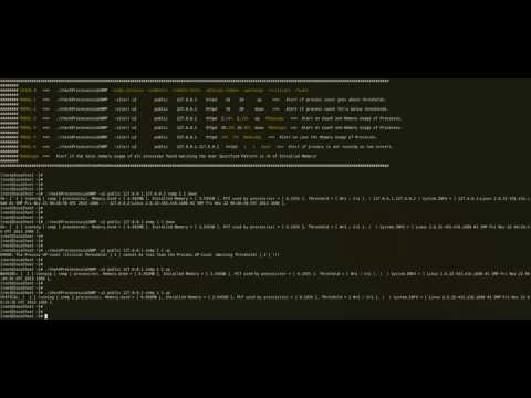 Process Count/Memory Monitoring - Remotely Monitor Processes on Linux/Unix/Windows Systems