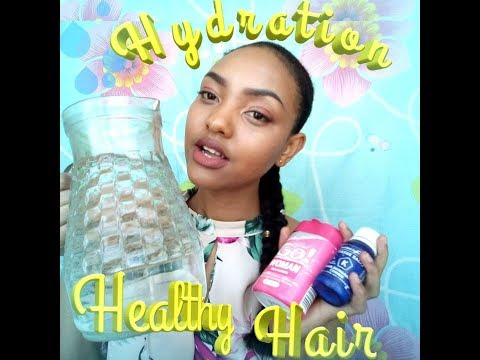Can water help your hair grow?/Hydration and health hair