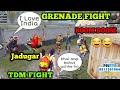 GRENADE FIGHT ONLY PART 3 DIL JIT LIYA OPPOSITE TEAM NE Funny Match PUBG MOBILE
