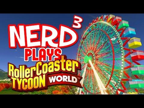 Nerd³ Plays... RollerCoaster Tycoon World - Ugh