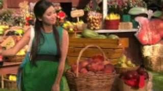 Brenda Song - Pass The Plate - Fruit