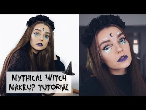 Mythical Witch Halloween Makeup Tutorial : LoveFings