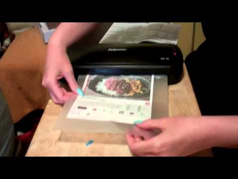 Fellowes Laminator Review