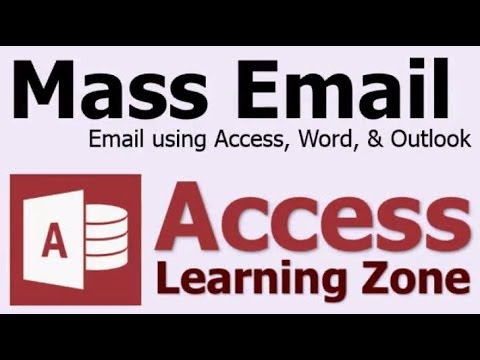 Send Bulk Email from Microsoft Access using Word & Outlook