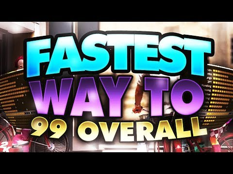 NBA 2K18 NEW SECRET FASTEST Way to 99 Overall!! How to Rep Up Fast & Quickly! | PeterMc