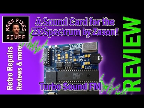 Review: TurboSound FM by Zaxon - A Sound Card for the ZX Spectrum