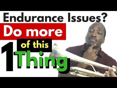 Building Trumpet Endurance : One Piece of Advice