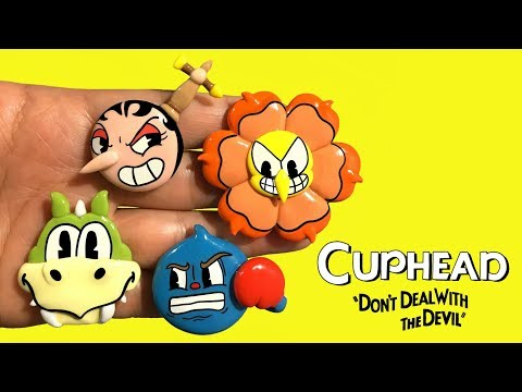 CUPHEAD! PART 2 Polymer Clay Tutorial