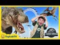 Giant Dinosaurs In London For Jurassic World Fallen Kingdom Movie Adventure T Rex Dinosaur Toys