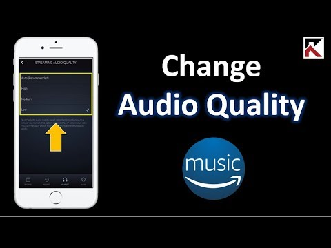 How To Change Amazon Music Audio Quality