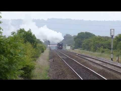 Black 5  44932 ,The Royal Duchy 1z36 @ Hewish, Somerset 16-06-13