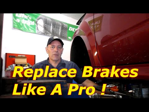 Replace Brakes And Rotors On A 2010 Mercury Mariner Or Ford Escape