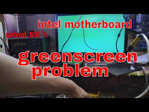 Computer Repair #Pc Repair #intel 915 greenscreen problem solved