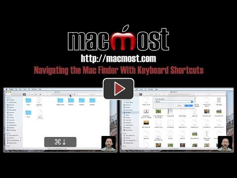 Navigating the Mac Finder With Keyboard Shortcuts (#1572)