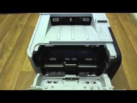 HP Laserjet P2055 - Changing the cartridge