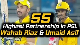 Highest Partnership of 9th Wicket in PSL | Islamabad United Vs Peshawar Zalmi | HBL PSL 2018